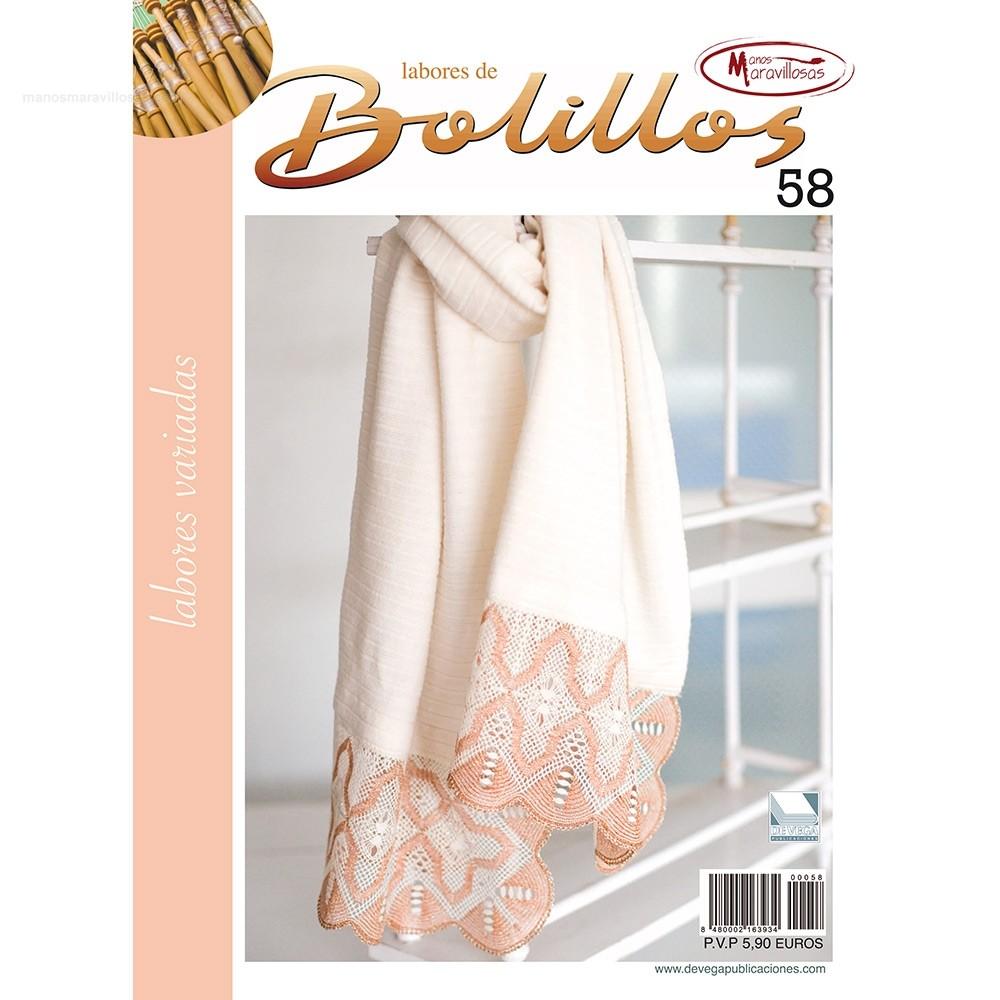 Labores de Bolillos - Nº 58-La Merceria