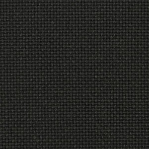 Etamine Charles - 100% Algodón - 11 cuadros / cm. - Negro