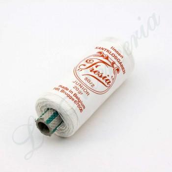 """Thread 100% Linen - """"Fresia"""" - White"""