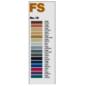 "Metallic thread - ""Madeira""  - FS No.  15"