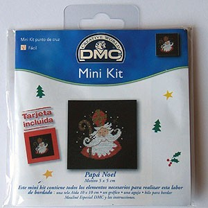 "Mini kit - ""Father Christmas"" - Included card"