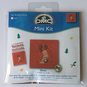 "Mini kit - ""Reindeer"" - Included card"