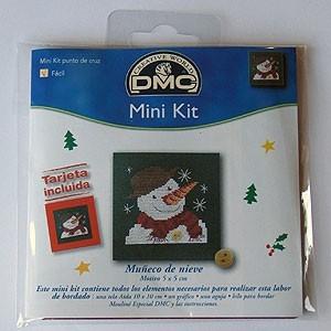 "Mini kit - ""Muñeco de Nieve"" - Tarjeta incluida"