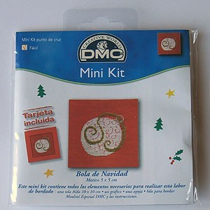 "Mini kit - ""Christmas ball"" - Included card"