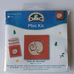 "Mini kit - ""Bola de Navidad"" - Tarjeta incluida"