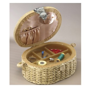 Sewing box - Oval