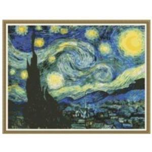 """""""Noche Estrellada"""" - Vincent van Gogh - Graph"""