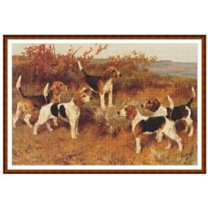 """""""Perros de caza"""" - Gráfico"""