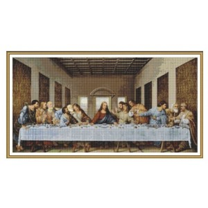 """La Ultima Cena"" - Miguel Angel - Graph"