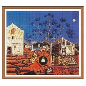 """""""La Masía"""" - Joan Miró - Gráfico"""