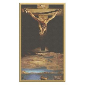 """Cristo"" - Salvador Dalí - Gráfico"