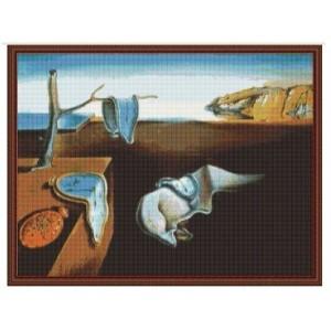 """""""Tiempo"""" - Salvador Dalí - Graph"""