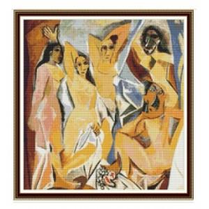 """Damas Avignon"" - Pablo Picasso - Graph"