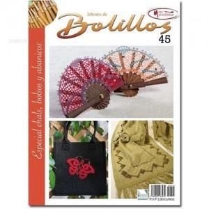 Labores de Bolillos - Nº 45 - Especial Chales, bolsos y abanicos