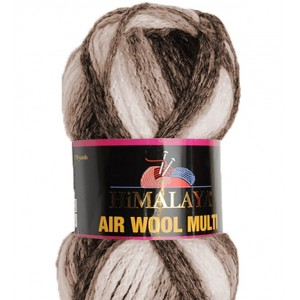 "Lana ""Air wool Multi"" - ""Himalaya"""