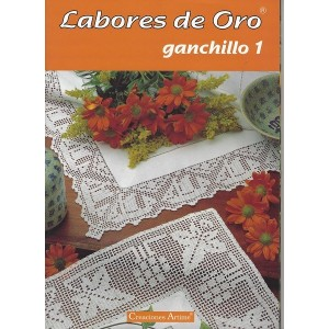 Creaciones Artime - Labores de Oro - Ganchillo - Nº 1
