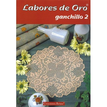 Creaciones Artime - Labores de Oro - Ganchillo - Nº 2