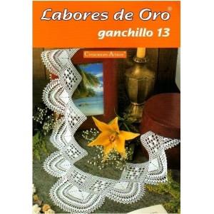Creaciones Artime - Labores de Oro - Ganchillo - Nº 13