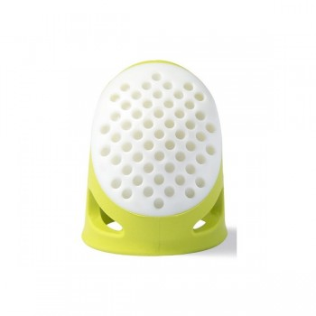 Ergonomic silicone thimble - Light Green -  Prym