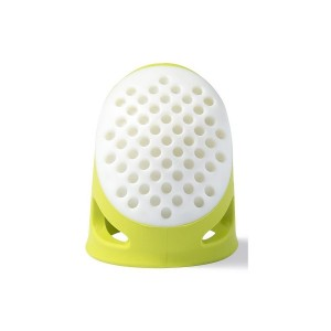 Dedal de silicona ergonómico - Verde claro - Prym