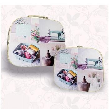 "Sewing kit ""Briefcase - Vintage"" - No. 2"