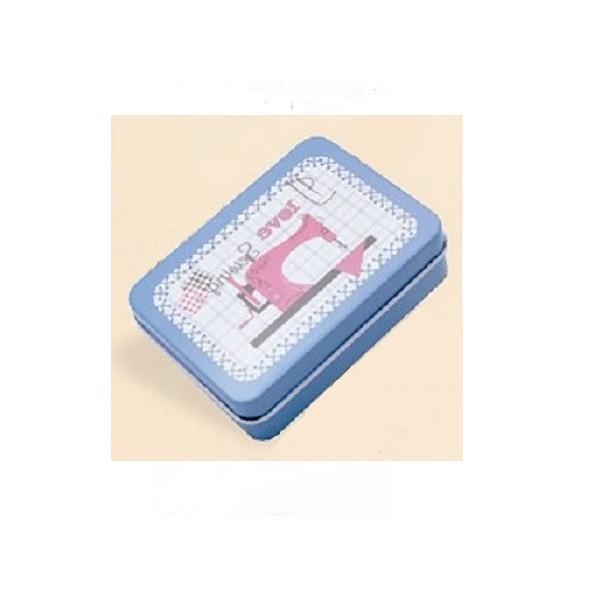 Caja metálica rectangular \