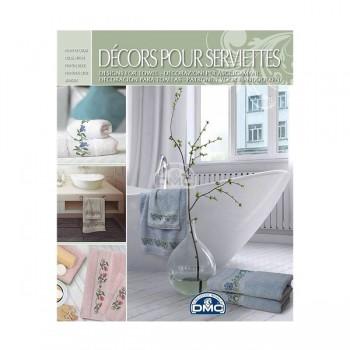 """Décors pour Serviettes - Towels - """"DMC"""""""