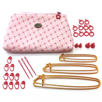 "Knitting Accessories with pouch  - ""DMC"""