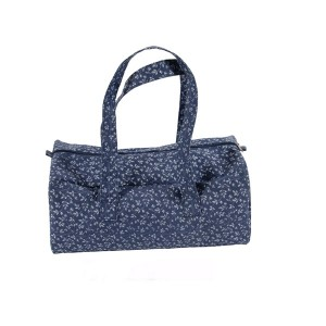 "Handbags ""Fleurs Bleues""  - DMC"