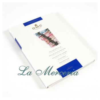 """Color chart of threads Mouliné and Perlé - """"DMC"""""""