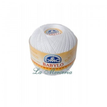 "Ball ""Babylo"" - DMC - No 5 - 100 gr. White B5200"