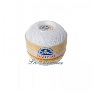 "Ball ""Babylo"" - DMC - No 10 - 100 gr. White B5200"