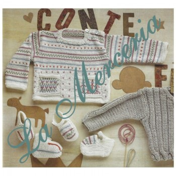 Pattern - Jacquard Kids Sweater - Free