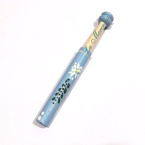 "Hand painted"" Straight Bobbin - Daisies"