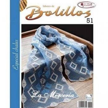 Labores de Bolillos - Nº 51 - Especial Chales
