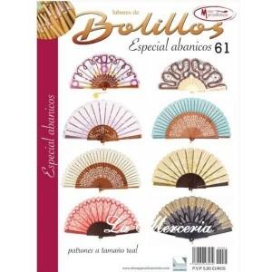 Labores de Bolillos - Nº 61 - Especial Abanicos
