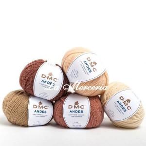 """Wool """"ANDES"""" - DMC"""