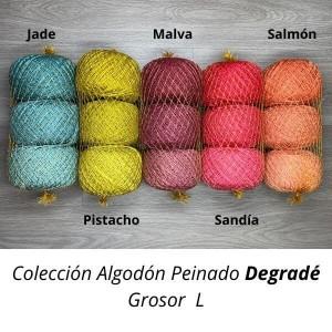 Combed Cotton Degradé L - Casasol