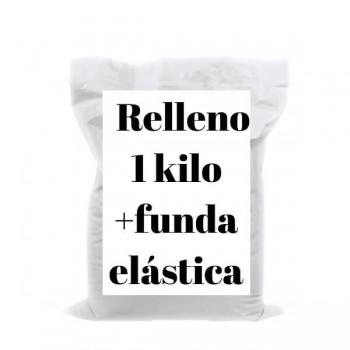 White Amigurumis Stuffing + Elastic Cover 1 kgr. - Casasol