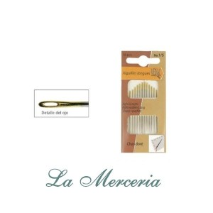 Sewing Needles - Nº 5/10 - Mediac