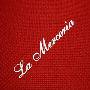Panama - 50% Cotton - 5 squares / cm. - Red