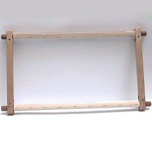 Rectangular wooden frame