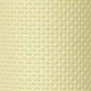 Cloth panel - Aida 100% Cotton - Ecru - 1 metre