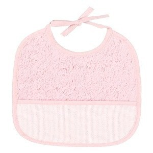 "Bib of curl - 3 Month - Pink - ""DMC"""