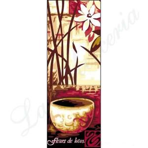 """Margot """"Fleurs de Lotus 1"""" - Con hilos y agujas"""