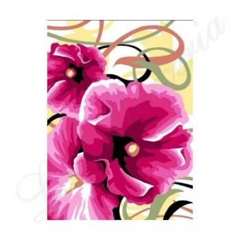 "Margot ""Roses trèmières"""