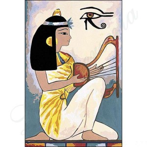 """Seg """"Egipcio I"""" - Con hilos y agujas"""