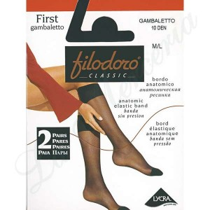 "First 10 Gambaletto - Dos pares - ""Filodoro"""