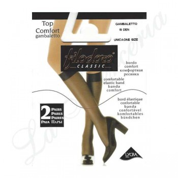 "Top Confort 15 Gambaletto - Two pairs - ""Filodoro"""