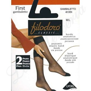 """First 40 Gambaletto - Two pairs - """"Filodoro"""""""